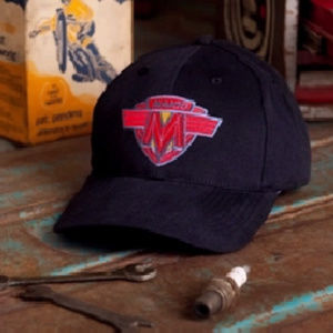 Maico Motorcycle Embroidered Hat Black - NEW